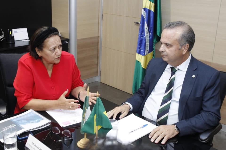 Portal da Tropical - Notícias - Em Brasília, Fátima e Rogério Marinho  tratam de recursos para obras no RN