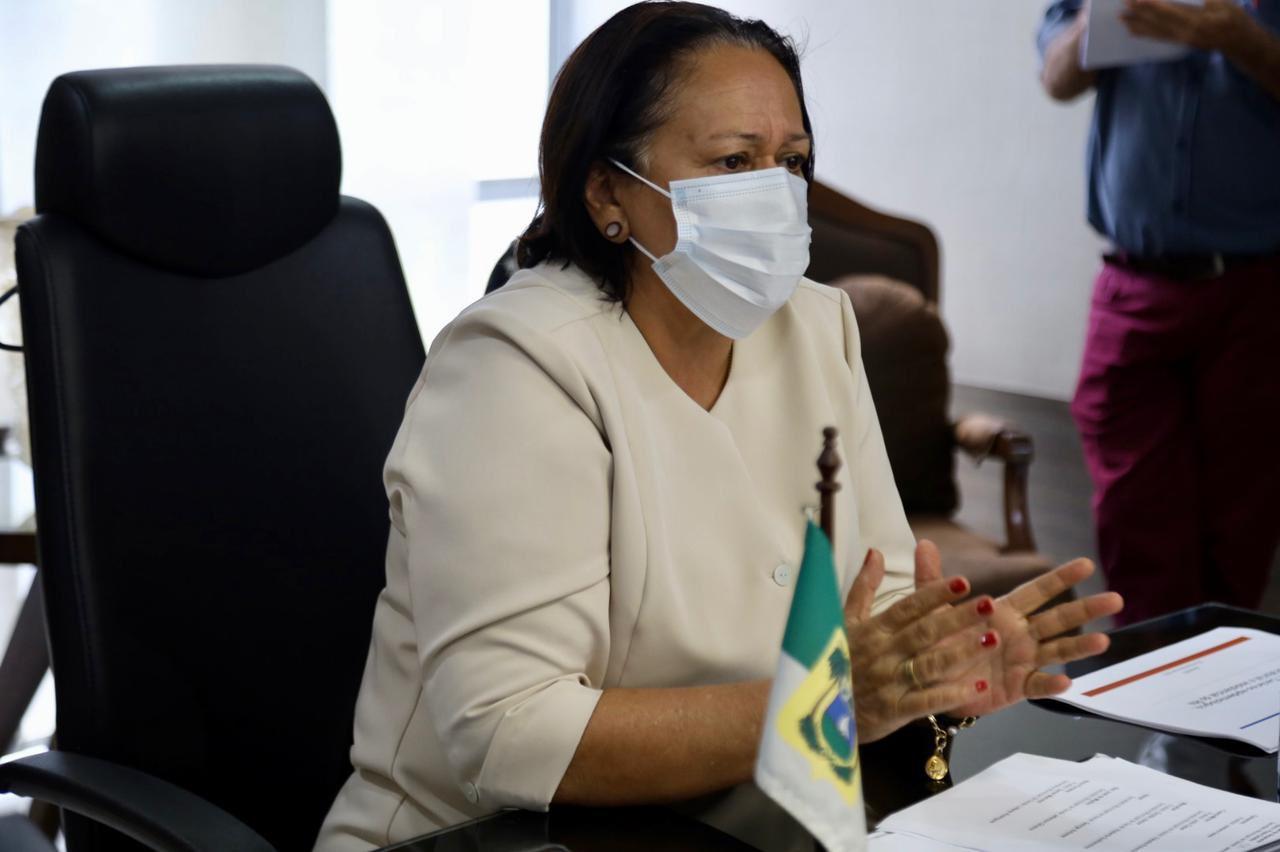 Portal da Tropical - Notícias - Fátima Bezerra anuncia toque de recolher no RN das 22h às 5h