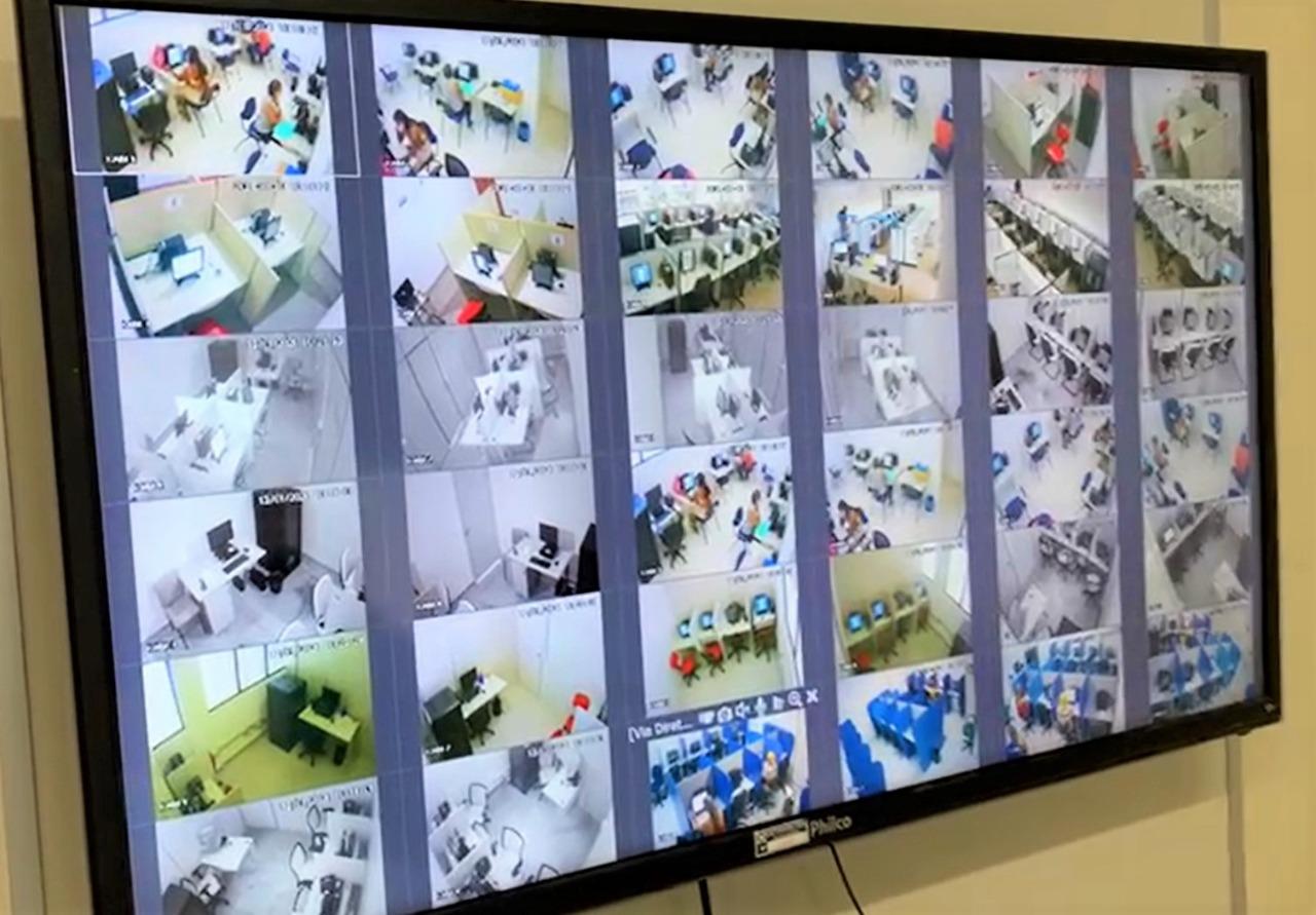 Portal da Tropical - Notícias - Detran implanta central de videomonitoramento para prova teórica da CNH